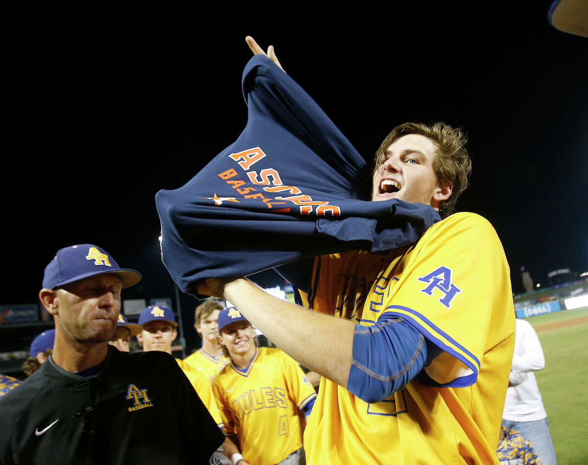 The Astros hope the sky's the limit for San Antonio Alamo Heights pitcher Forrest Whitley, who they selected first overall in last week's MLB draft. Whitley helped lead Alamo Heights to the Class 5A state championship game, finishing his senior year with a 10-1 record and 137 strikeouts in 742⁄3 innings.