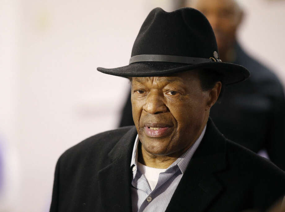 FILE - Former Mayor and current DC City Council member Marion Barry arrives at a media availability to endorse Mayor Vincent Gray's bid for re-election, in this, March 19, 2014 file photo taken in Washington. Barry, who staged a comeback after a 1990 crack cocaine arrest, died early Sunday morning Nov. 23, 2014. He was 78. (AP Photo/Alex Brandon)