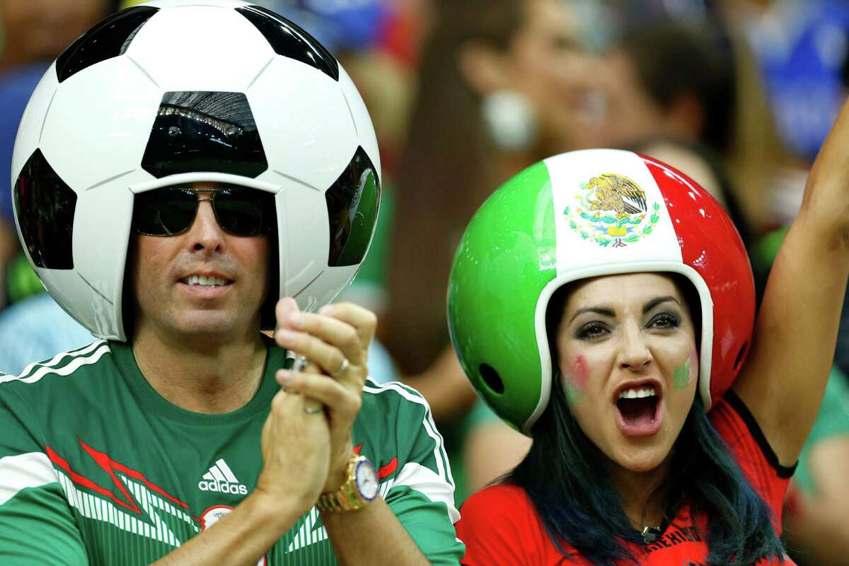 Possessing a fervor that's hard to match, Mexico's fans clearly have their heads in the game.