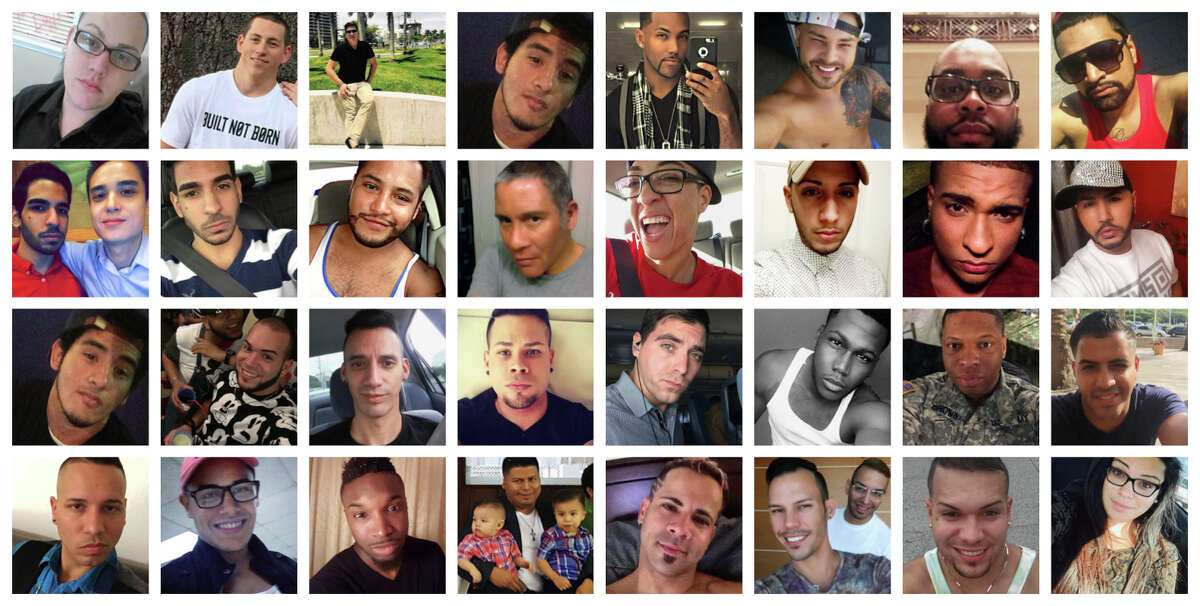 Just some of the 49 men and women who were killed in the Pulse nightclub shooting in Orlando, Florida. Click through the images to see the victims.