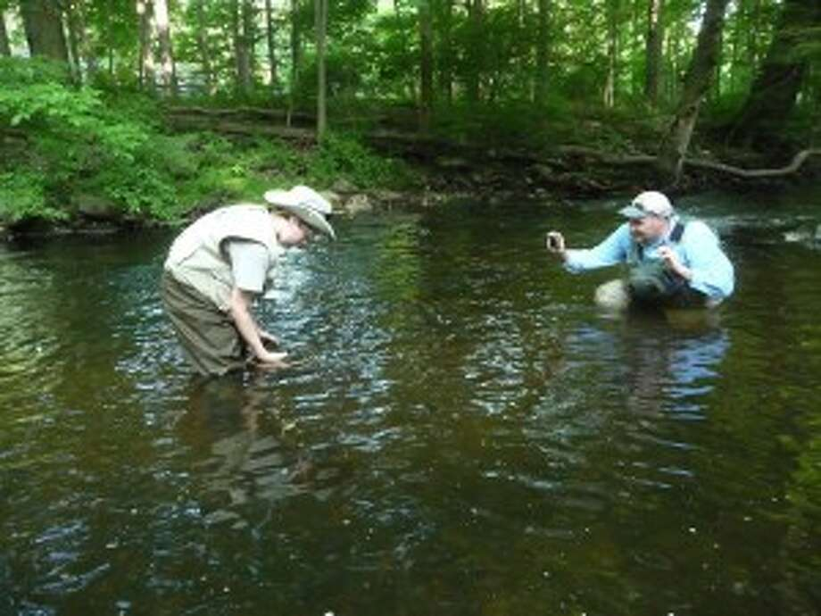 Grandfather relays story of wonderful fly-fishing experience