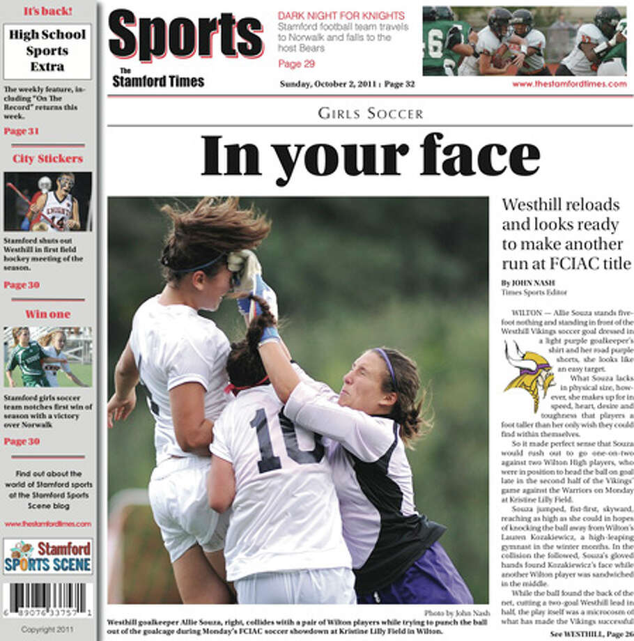This week in The Stamford Times (Sunday, Oct. 2, 2011 edition)