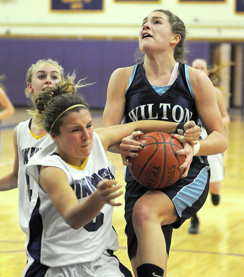 Wilton vs. Westhill Girls Basketball — Stats all, folks