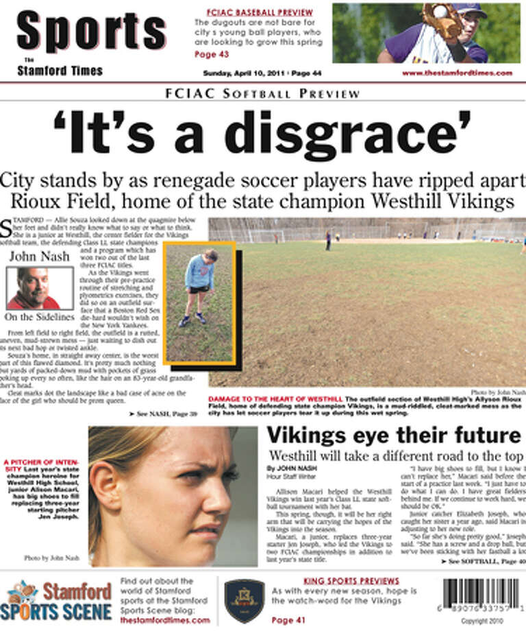 This week in The Stamford Times (April 10, 2011 edition)