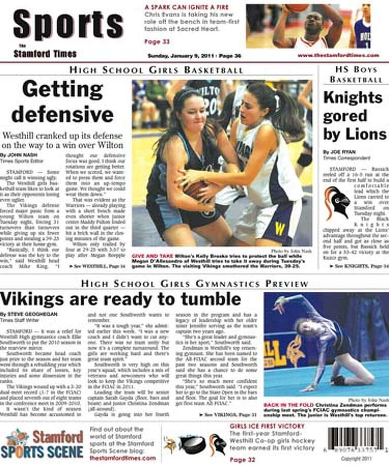 This week in The Stamford Times (Jan. 7, 2011 edition)