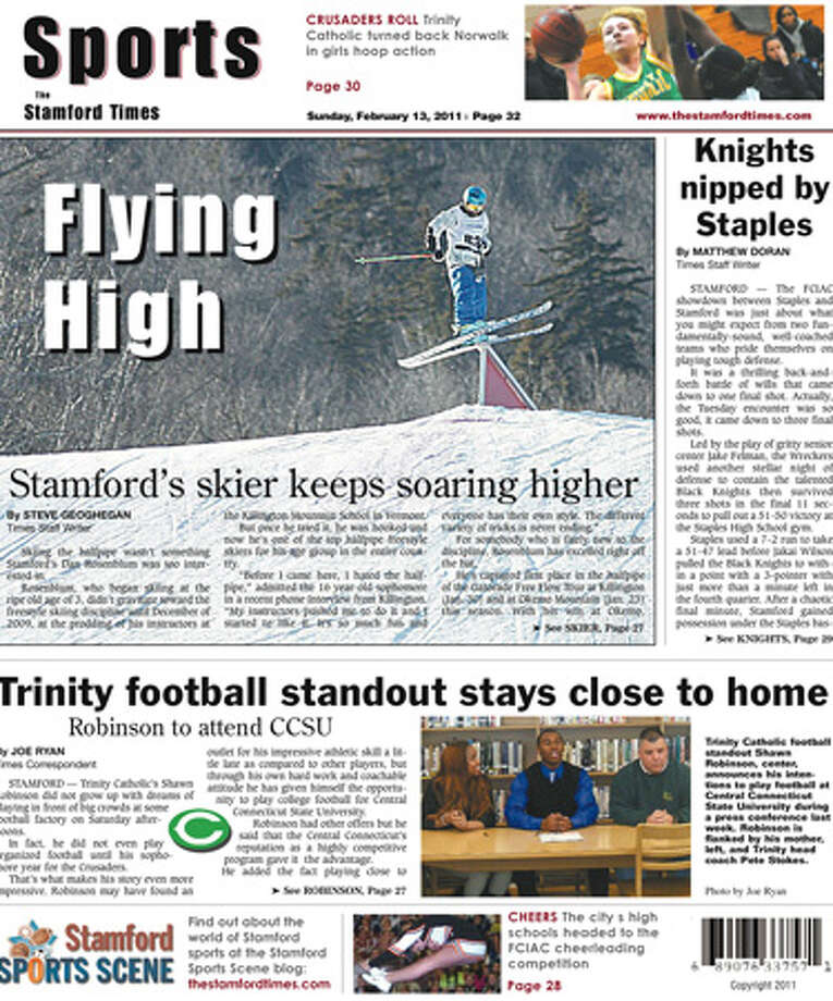 This week in The Stamford Times (Feb. 13, 2011 edition)