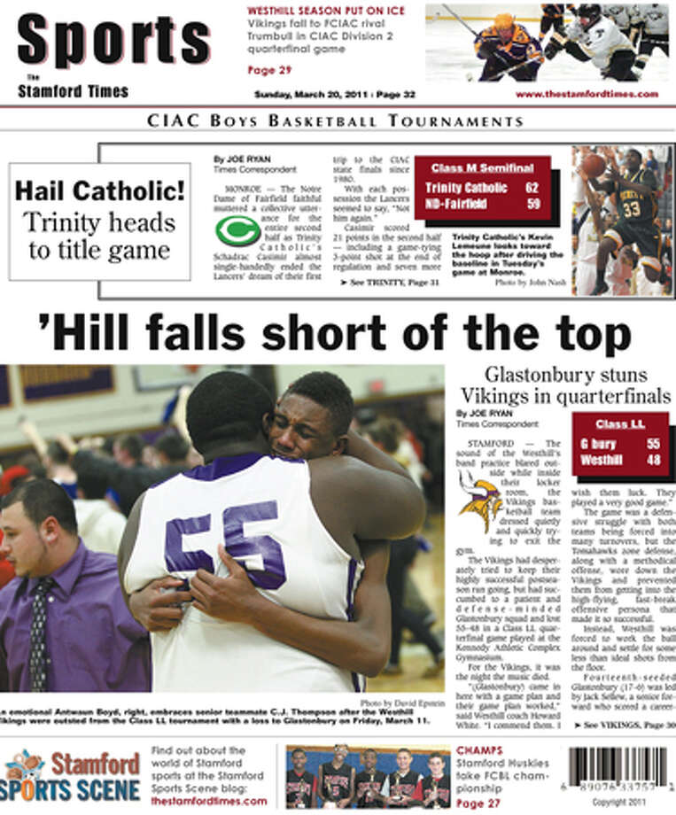 This Week In The Stamford Times (March 20, 2011 edition)