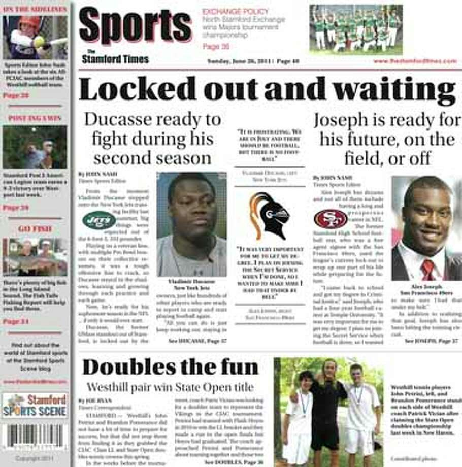 This week in The Stamford Times (June 26, 2011 edition)