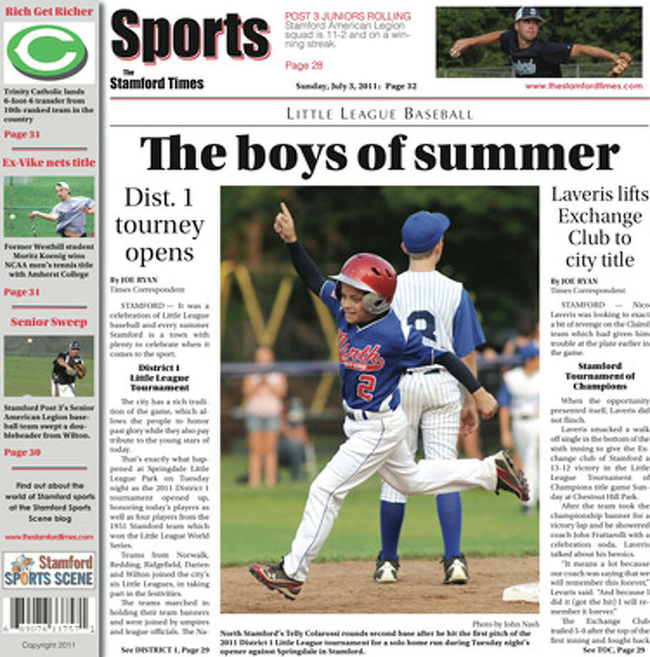 This week in The Stamford Times (July 3, 2011 edition)