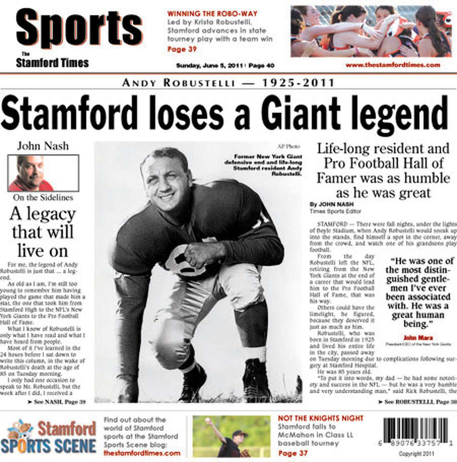 This week in The Stamford Times (June 5, 2011 edition)