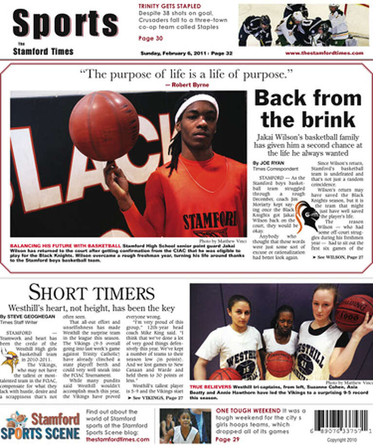 This Week In The Stamford Times (Feb. 6, 2011 edition)