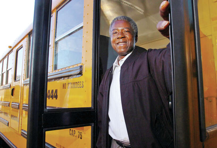 Hour file photo / Erik TrautmannJesse Montgomery, a school bus driver with the district for 40 years, has passed away.
