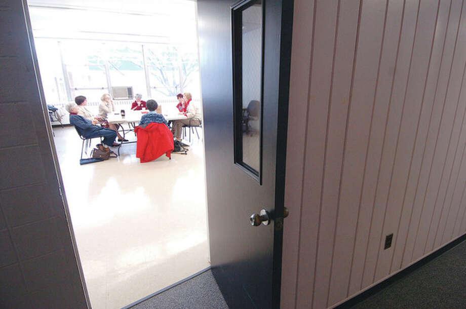 File photo by Alex von KleydorffOne of the meeting rooms at Comstock Community Center. / © 2011 The Hour Newspapers/Alex von Kleydorff