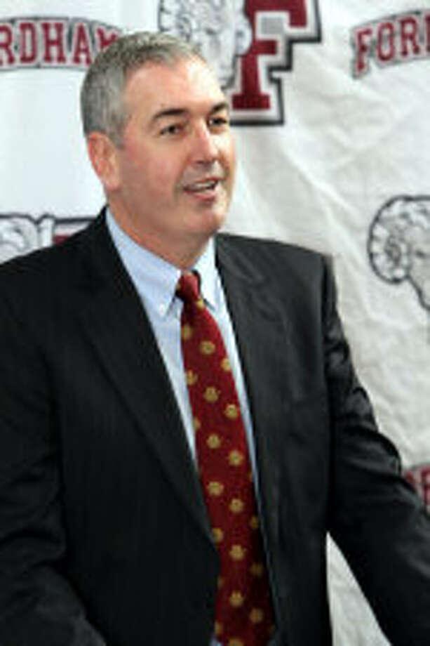 Former UConn QB coach introduced as Fordham's new boss