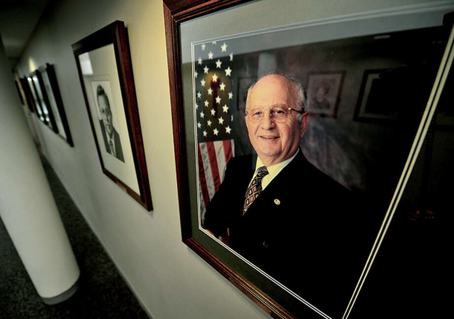 Former mayor of Norwalk, Frank Esposito, has died. Hour photo / Erik Trautmann / (C)2012, The Hour Newspapers, all rights reserved
