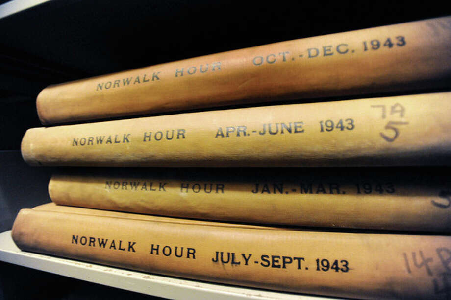 Bound copies of The Hour from October 1936 through March 1956 are kept at the Norwalk Museum.