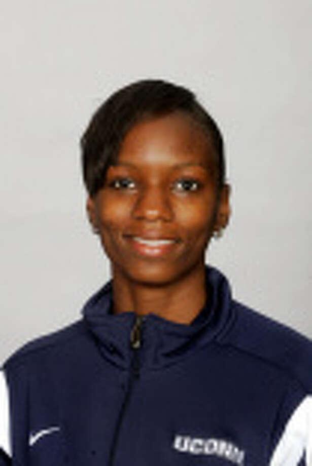 UConn's Trisha-Ann Hawthorne completes an 8-for-8 BIG EAST championship track career