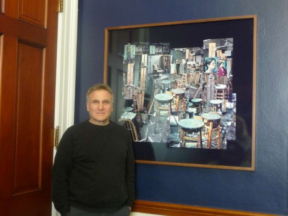 Norwalk artist hangs art in Rep. Himes' Washington office