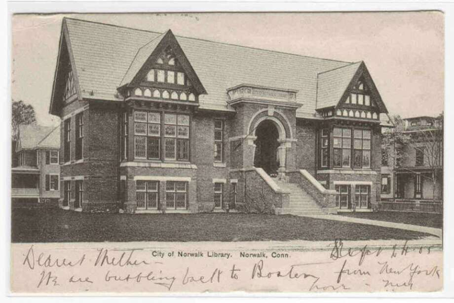 Norwalk's ebay item of the week: The Norwalk Library circa 1905