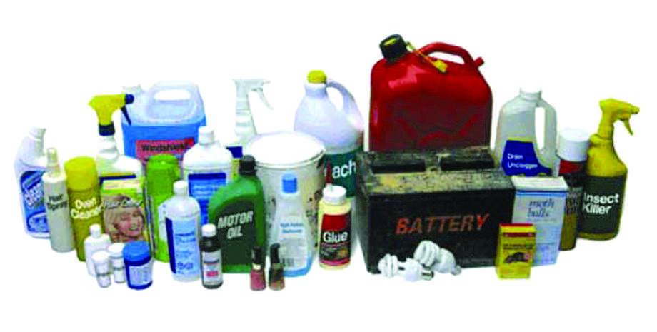 Wilton's Hazardous Waste Collection Day Oct. 29