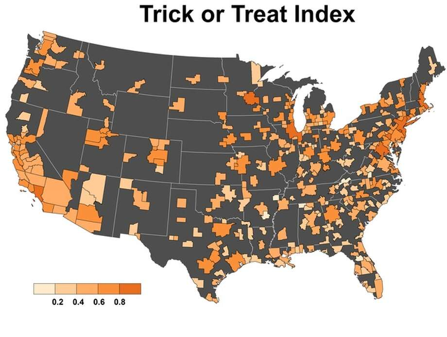 Norwalk ranked best for trick-or-treating