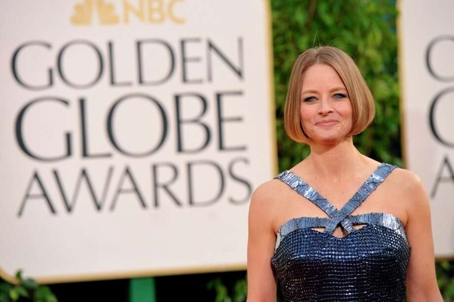 Jodie Foster arrives at the 70th Annual Golden Globe Awards at the Beverly Hilton Hotel on Sunday Jan. 13, 2013, in Beverly Hills, Calif. (Photo by John Shearer/Invision/AP) / Invision