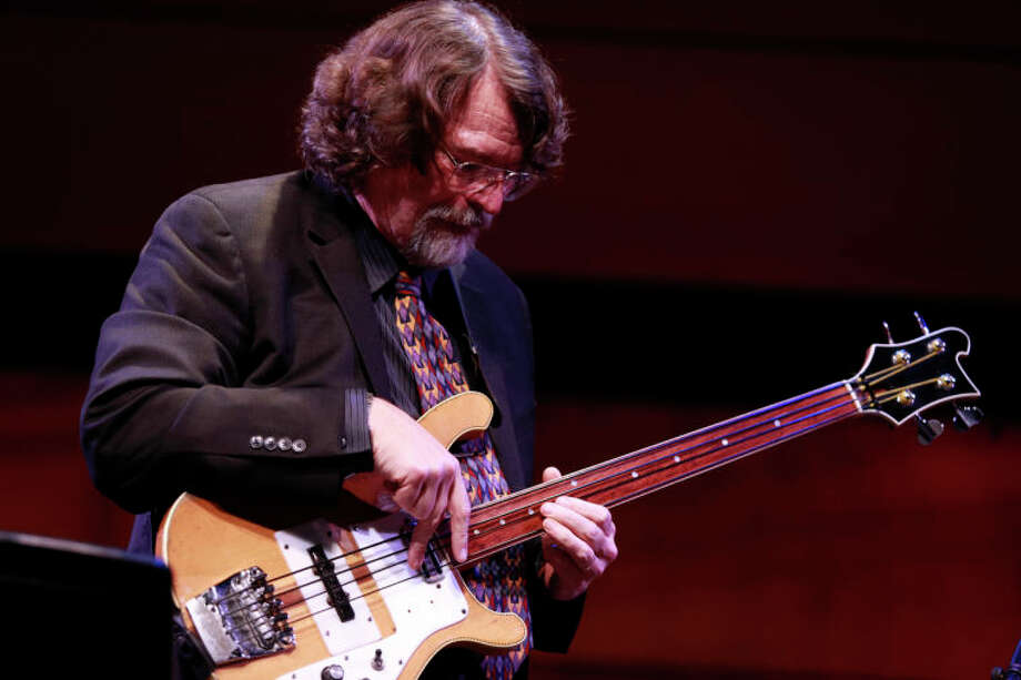 Chris Brubeck performs at the Community Celebration of the Life and Music of Dave Brubeck at Wilton High School on Saturday, January 12, 2013. (Chris Palermo / Hour Photo) / ©2012 The Hour Newspapers All Rights Reserved
