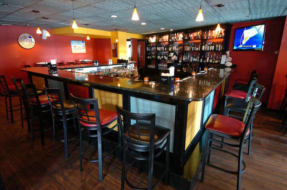 Hour Photo Alex von Kleydorff; The Bar area at Tinto, Bar Tapas in Norwalk