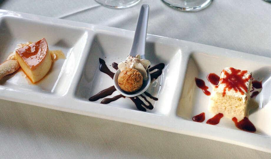 Hour Photo Alex von Kleydorff; Dessert at Tinto in Norwalk