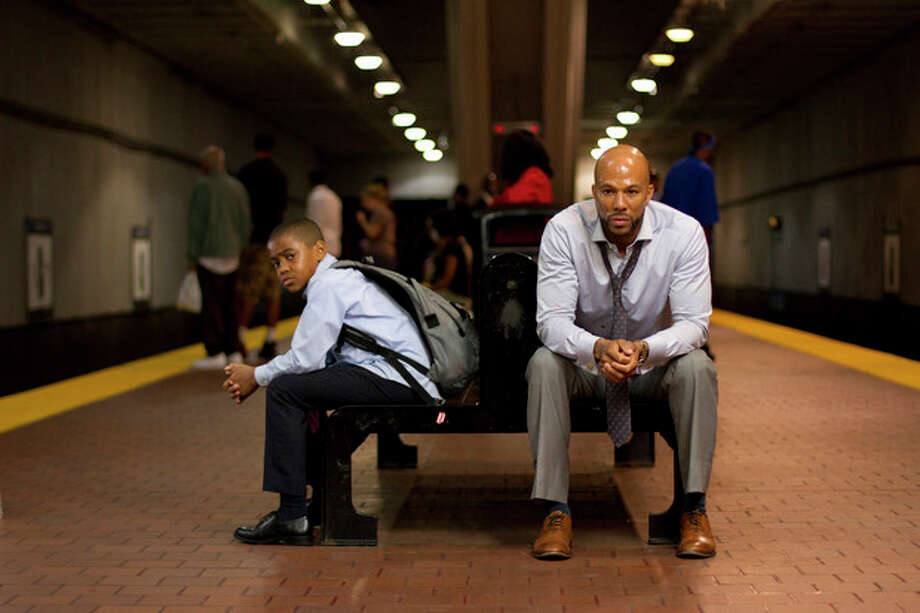 "This film image released by Indomina shows Michael Rainey Jr., left, and Common in a scene from ""Luv."" (AP Photo/Indomina, Bill Gray) / Indomina"