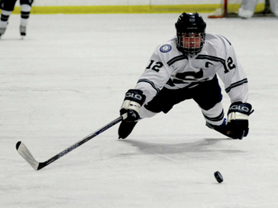 Staples-Saint Bernard — A CIAC Division III Playoff Hockey Album (Photos by John Nash)