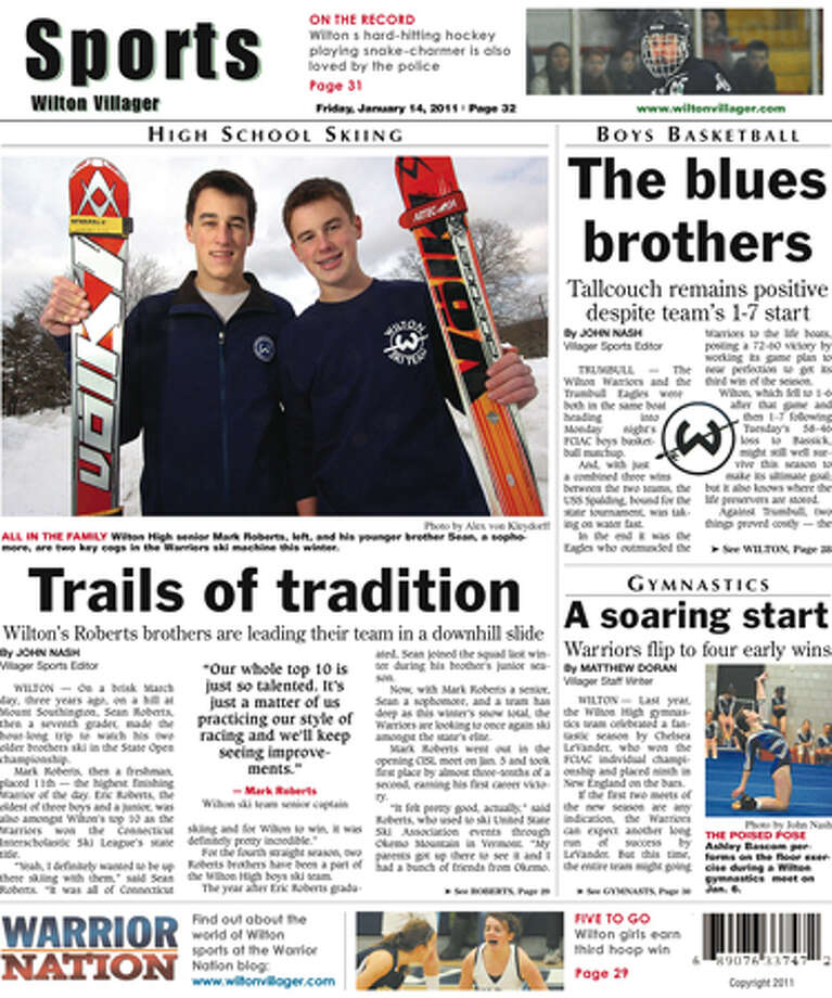 This Week in the Wilton Villager (Friday, Jan. 14, 2011 edition)
