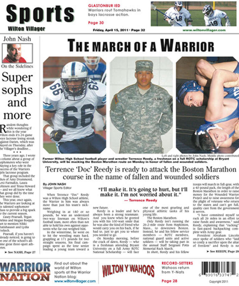 This week in the Wilton Villager (April 15, 2011 edition)