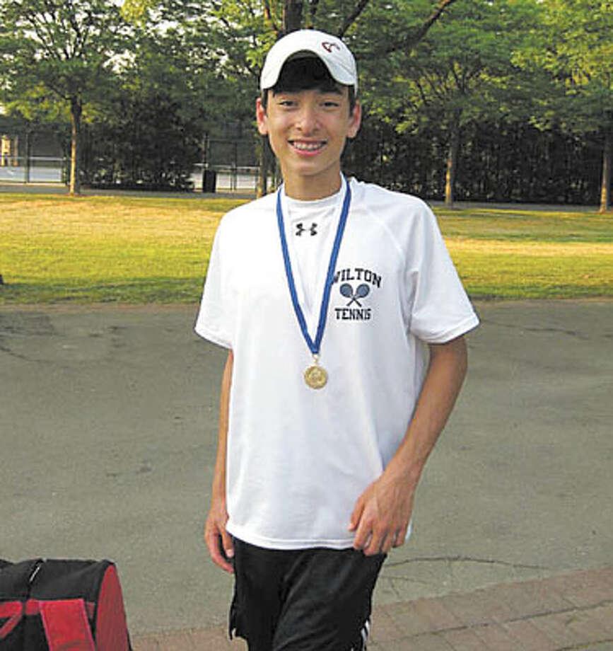Farrell wins state Class L tennis title