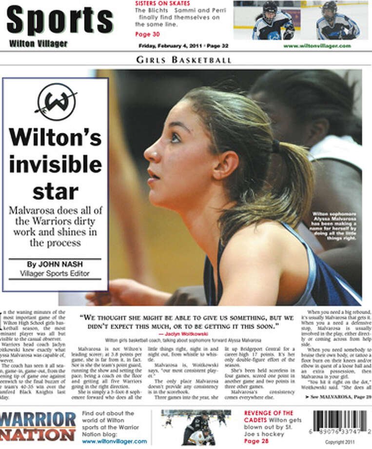 This week in the Wilton Villager (Feb. 4, 2011 edition)