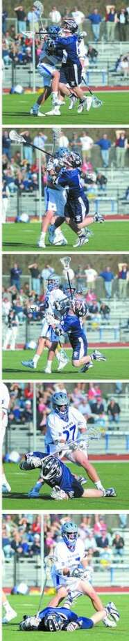 In many towns, this is called an assault; In Darien, it wasn't even called a penalty