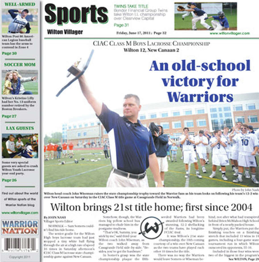 This week in the Wilton Villager (June 17, 2011 edition)