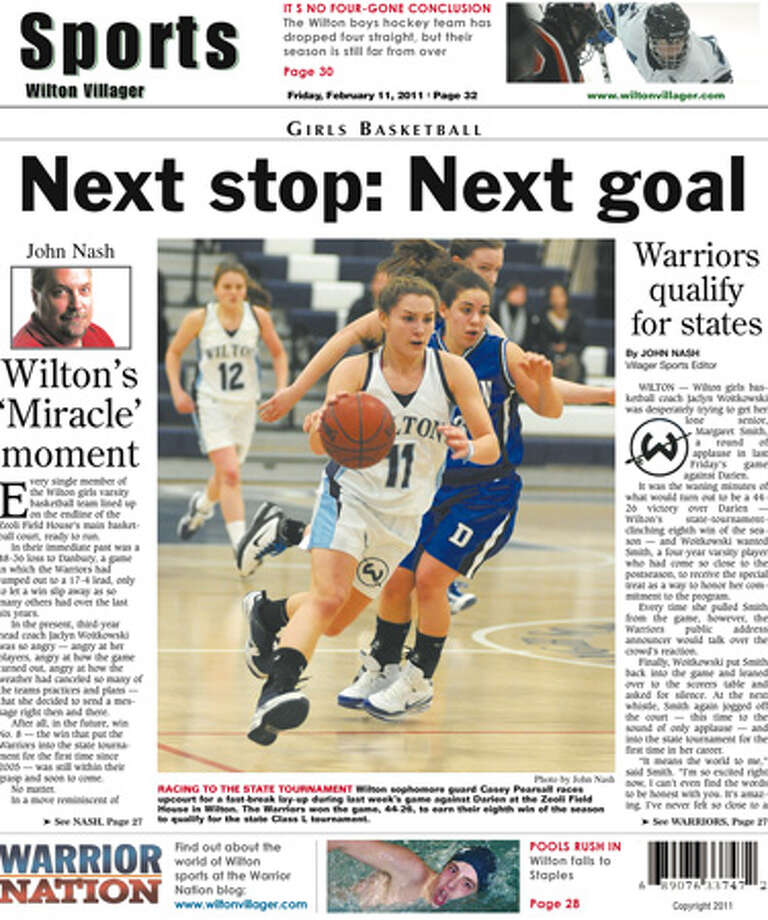 This week in the Wilton Villager (Feb. 11, 2011 edition)