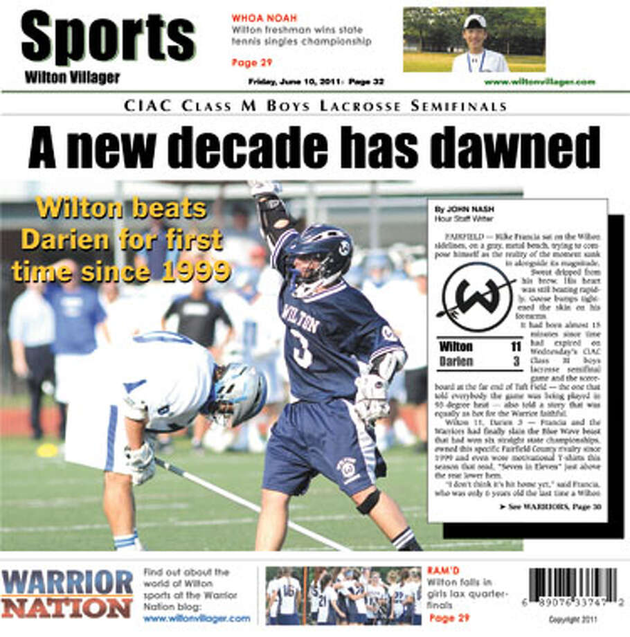 This week in the Wilton Villager (June 20, 2011 edition)