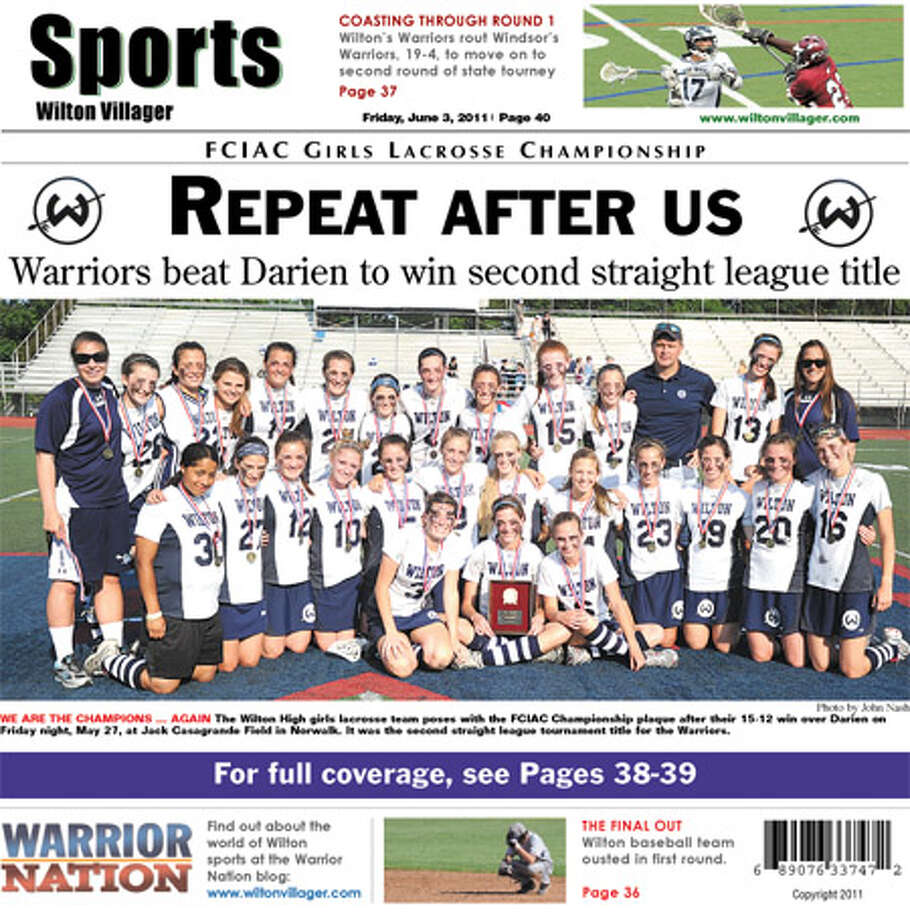 This Week in the Wilton Villager (June 3, 2011 edition)