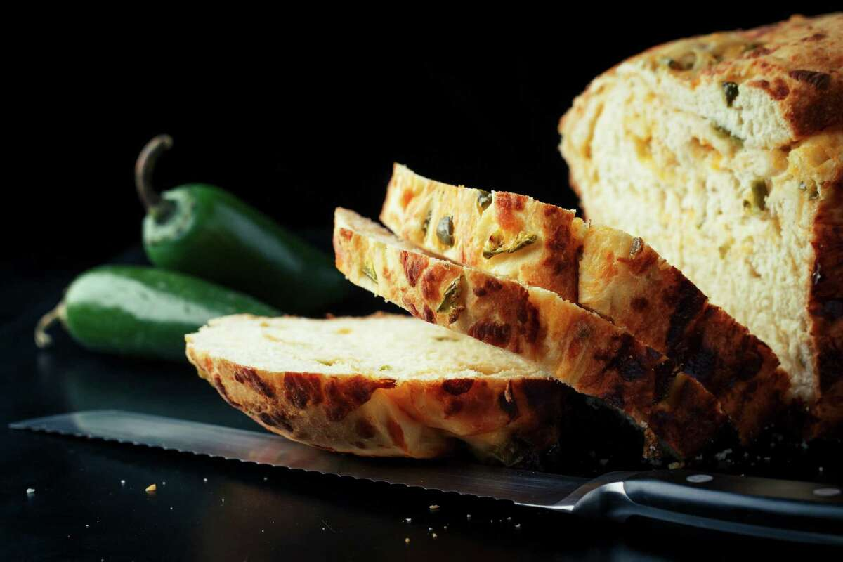Jalapeno cheese bread is a Goode Co. classic.