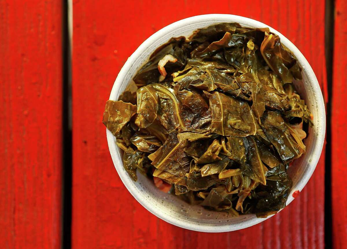 Collard greens from Roegels Barbecue Co.