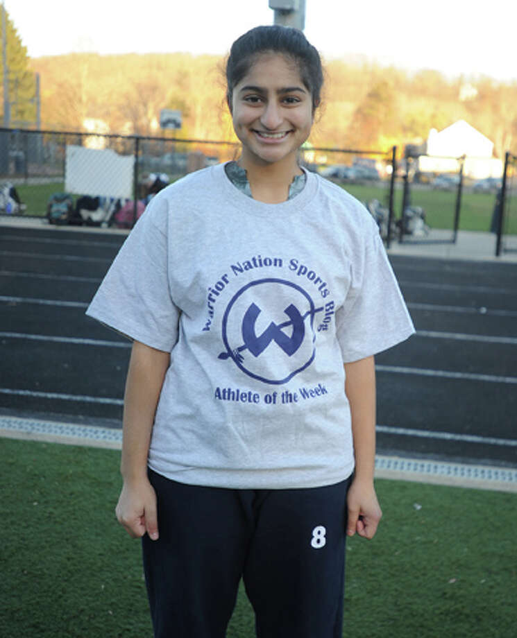 Nazareth earns Trackside Teen Center Athlete of the Week award