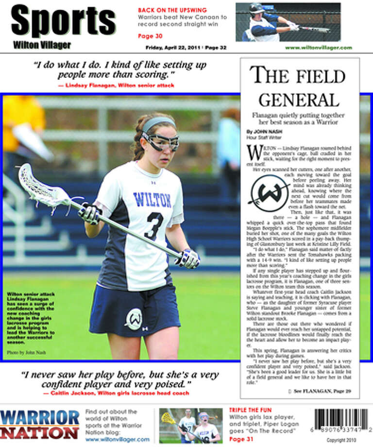 This week in the Wilton Villager (April 22, 2011 edition)