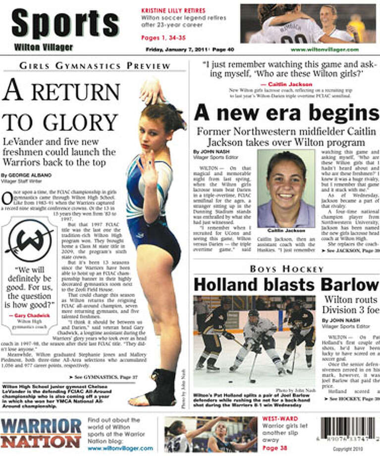 This Week in the Wilton Villager (Jan. 7, 2011 edition)