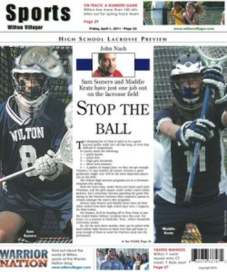 This week in Wilton Villager (Friday, April 1, 2011 edition)
