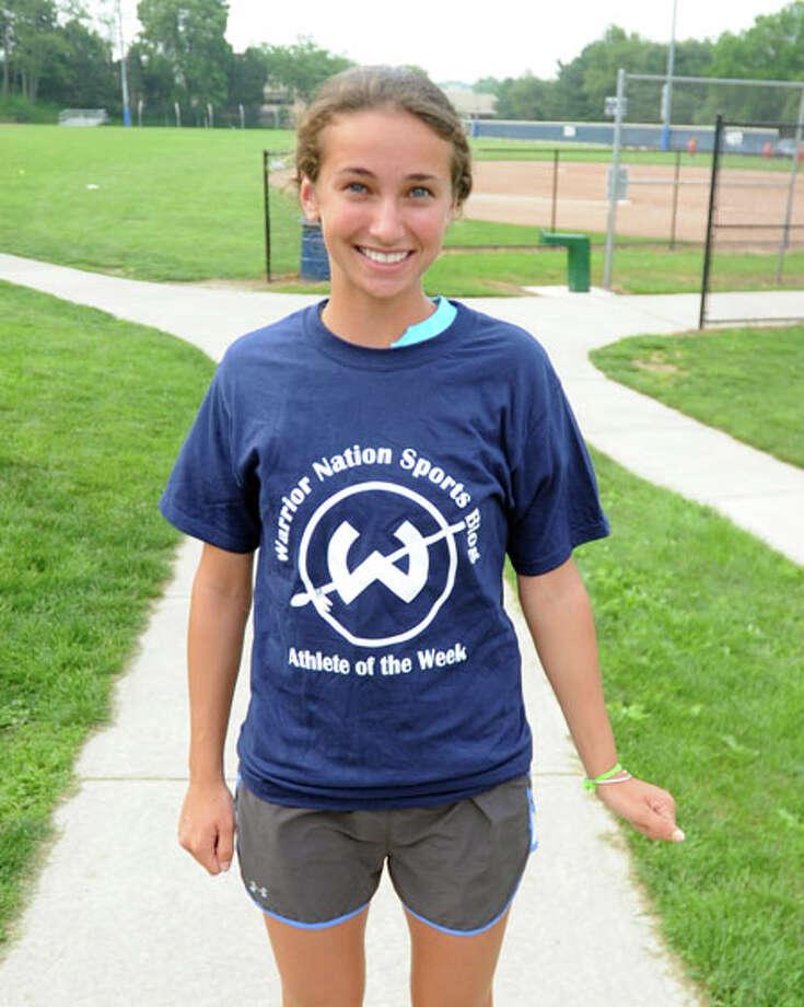 Freshman Brooke Connolly earns Trackside Teen Center Athlete of the Week award