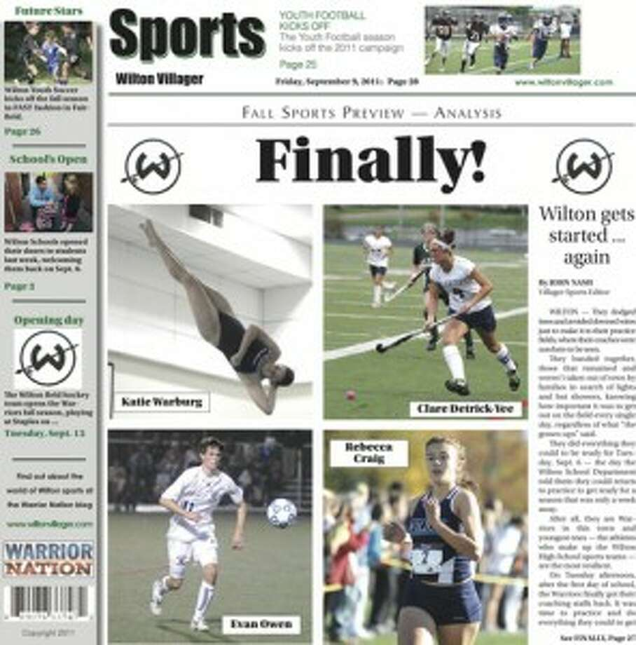 This week in the Wilton Villager (Friday, Sept 9, 2011 edition)