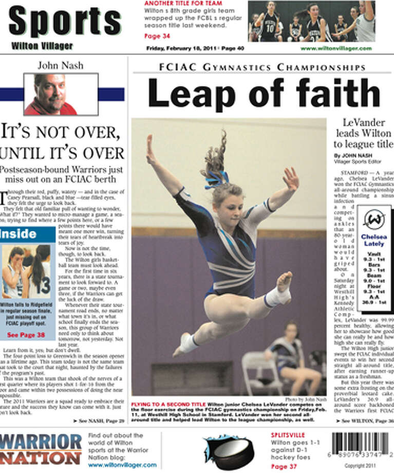 This week in the Wilton Villager (Friday, Feb. 18, 2011 edition)