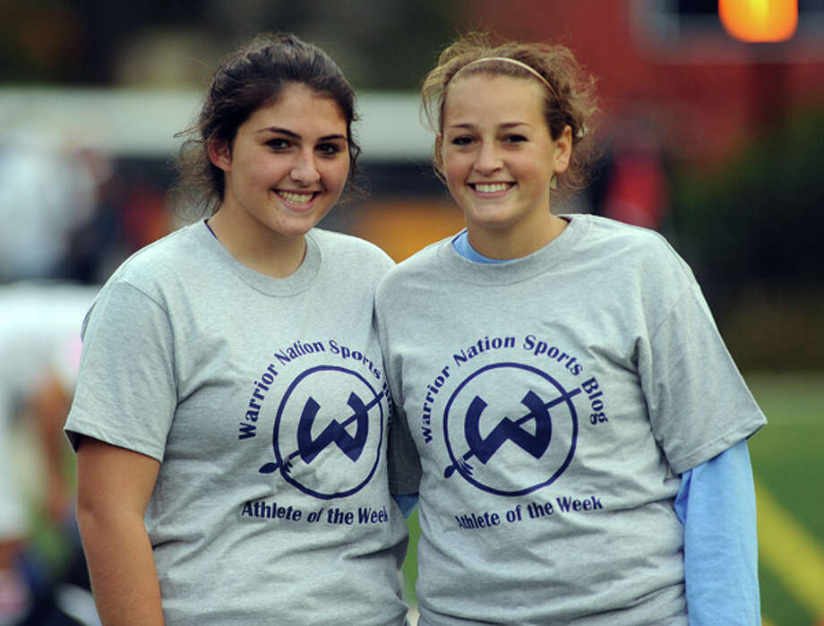 Reda, O'Brien have shared the goal, now they're sharing the Trackside Teen Center Athlete of the Week Award